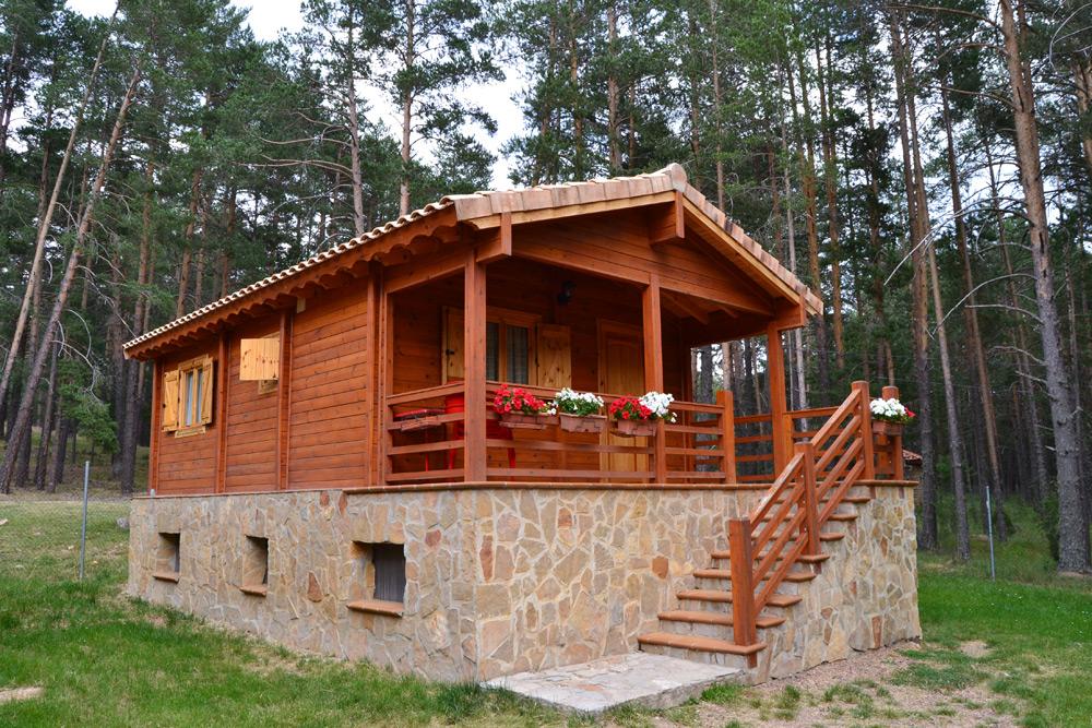 Camping orea camping ora bungalows camping caravaning - Fotos de bungalows de madera ...